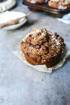 Banana Buckwheat Muffin