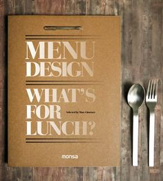 menu design selected by marc gimenez