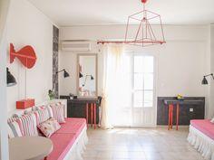 Santorini Eos villa with private pool and function room - Imerovigli Santorini, Greece, Villa, Bed, Furniture, Home Decor, Greece Country, Decoration Home, Stream Bed
