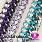 Tutorial - Videos: How to Tie Rhinestone Cup Chain onto Curb Chain | Beadaholique