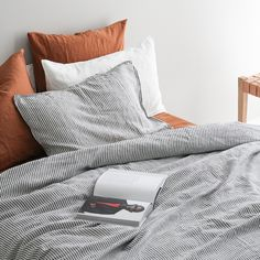 A&C Linen Duvet Cover in French flax bed linen, designed in New Zealand by . - A&C Linen Duvet Cover in French flax bed linen, designed in New Zealand by A&C Homestore in ex - Bedroom Inspo, Home Bedroom, Bedroom Decor, Bedrooms, Interior Design Minimalist, Design Interior, Home Interior, Interior Livingroom, Cheap Home Decor