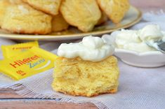 Scons de limón sin azúcar Cornbread, Vanilla Cake, Biscuits, Dairy, Cheese, Ethnic Recipes, Desserts, Blog, Veronica