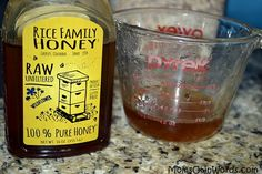 Raw honey giveaway