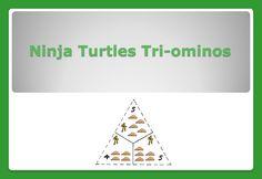 Ninja Turtle Tri-ominos
