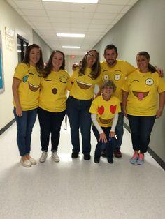 Halloween group Emojis costume