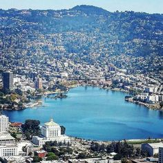 Lake Merritt in the heart of Oakland, Ca