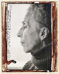 Karen Blixen by Peter Beard. Blixen regretted it much that she was not more beautiful, but ultimately she became more interesting, which is just a different kind of beauty.