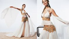 Pantar wedding dress– Revival collection. Marina Mansanta Haute Couture