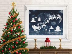 Der Klassiker zur gemütlichsten Jahreszeit: Santa Claus mit seinen Rentieren