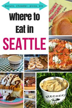 Where to Eat in Seattle >> over 20 places for breakfast, lunch, and dinner | www.apassionandapassport.com