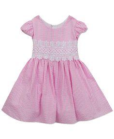 Ruffle Dress Short Sleeve Dropped Waist Tunic Cotton 6M-24M 3T-6X ALL SEASONS