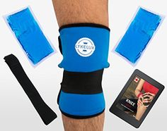 c662f35cc5 LykeLux Knee Pain Relief Gel Ice Pack Wrap - For Cold & Hot Therapy -  Soothes Arthritis & Meniscus Aches, Swelling, Elbow, Thigh & Forearm Pain -  Extra Gel ...