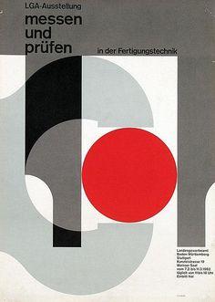 Herbert W. Kapitzki — LGA-Ausstellung Stuttgart messen und prüfen (1962) Kapitzki  designed exhibitions for the state industrial inspection board (Landesgewerbeamt) in Stuttgart in the 1950s and the early 1960s.