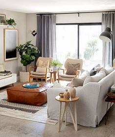 These Scandinavian-style rooms demonstrate how to master this cozy, minimalist look with style. #scandinavianlivingroom #minimalist #scandinaviandecor #modernhomedecor #bhg Small Condo Living, Condo Living Room, Tiny Living Rooms, Apartment Living, Living Room Designs, Living Room Decor, Small Condo Decorating, Condo Interior Design, Decoration