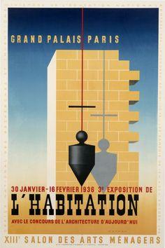 L'Habitation - Grand Palais Paris by Nathan-Garamond, Jacques   International Poster Gallery