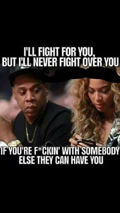 jayz and beyonce i will fight for you but never over you quote Britney Spears, Donald Trump, Fotos Do Instagram, Instagram Life, Beyonce And Jay Z, Beyonce Memes, Beyonce Quotes, Fight For You, Get Well Soon