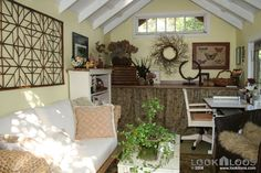 shed turned into guest house | Shed Office Space - Turning a Shed into a Charming Cottage
