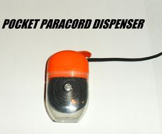 """Keep some paracord in your pocket!!  Since you never know when you'll need quick access to survival cord, give this """"Pocket Paracord Dispenser"""" a try. (via Instructables)  http://www.instructables.com/id/Pocket-Paracord-Dispenser/  #paracord   #pocket   #dispenser   #tying   #knotting   #crafting   #design   #diy   #tutorial   #howto   #survival   #prepper   #project"""