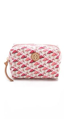 brigitte cosmetic case / tory burch