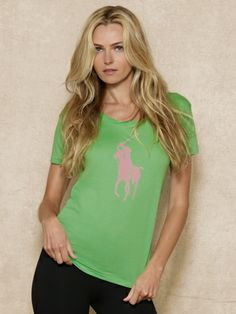 Ralph Lauren Pink Pony tee, $48. This tee is cute, comes in a variety of colors, and 25% of the sale price goes to breast cancer research. Learn more about the Pink Pony Fund at www.ralphlauren.com/pinkpony.