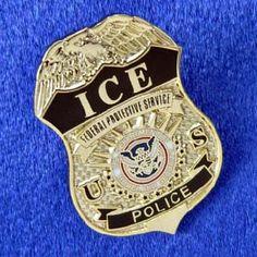 ICE Badge.