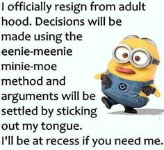67 Ideas Funny Love Quotes Minions Hilarious For 2019 Funny Minion Pictures, Funny Minion Memes, Minions Quotes, Jokes Quotes, Funny Texts, Qoutes, Minion Humor, Minion Sayings, Funny Pics