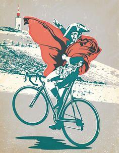 Captain Morgan, bike version.