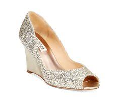 Badgley Mischka Awake Evening Wedge Pumps - Evening & Bridal - Shoes - Macy's