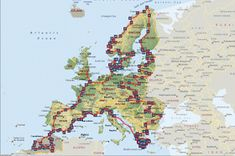 Europe By Camper - Travelling Europe By Motorhome: 2011 - 2012 Route and Van #Surfing