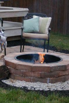 Brick Fire Pit