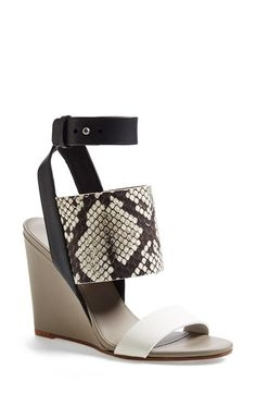 Vince 'Kyra' Leather Platform Sandal (Women) available at #Nordstrom