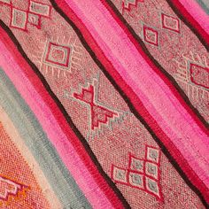 Handwoven Peruvian Rug  Khuno Rug by ARumFellow on Etsy, £270.00