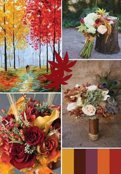 PERFECT FALL /AUTUMN WEDDING  IDEAS 2013