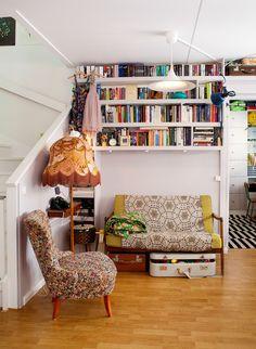 Casinha colorida: Uma casa Granny e Hippy Chic para amar