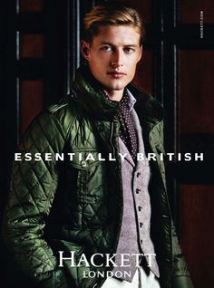 Model Jimmy Young-Whitforde returns to the forefront as Hackett London's leading man for the new fall winter 2011 campaign on this little preview. www.hackett.com