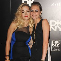 Cara Delevingne and Rita Ora | POPSUGAR Fashion