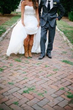Boots! Photography by smittenphotography.com, Wedding Planning by hthreeevents.com, Floral Design by phillipeschadwick.com