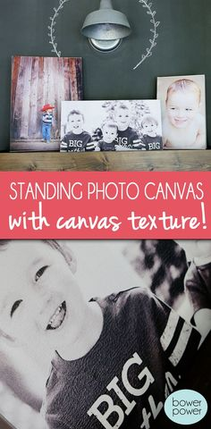 Standing Photo Canvas | Bower Power | Bloglovin'