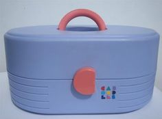 Caboodles! I remember them... but I had the knockoff of Caboodles (what were those called? it was also a little kit that came in bright colors...)