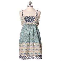 gypsy flower layered dress by ruche,  i love these colors
