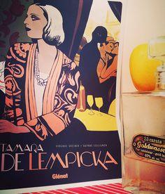 #lempicka #bd #vodka #golden #gold #apple #glénat