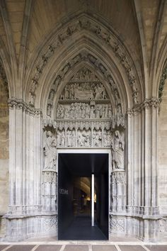 Occidens Museum, Pamplona cathedral by Antonio Vaillo and Juan Luis Irigaray