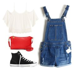 """""""23"""" by ddaisiee on Polyvore featuring H&M and Converse"""