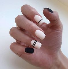 - 50 Trendy Stunning Manicure Ideas For Short Acrylic Nails These trendy Nail Designs ideas would gain you amazing compliments. Check out our gallery for more ideas these are trendy this year. Classy Nails, Stylish Nails, Simple Nails, Trendy Nails, Cute Nails, Minimalist Nails, Best Acrylic Nails, Acrylic Nail Designs, Grunge Nails