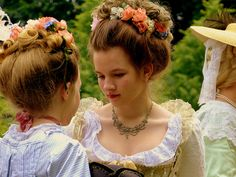 cecile's hair! Back to 1771. by e³°°°, via Flickr