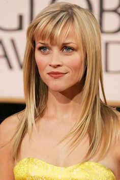 Beautiful bangs icon: Reese Witherspoon, 2007