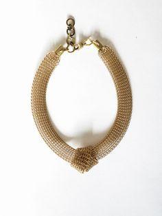 Kara Single Knot Necklace