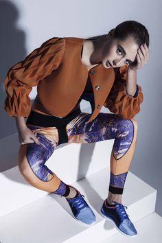 Designer Megan Blakemore, Contour Fashion BA (Hons)