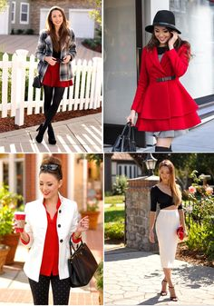 36 Ways to Wear Red and Black