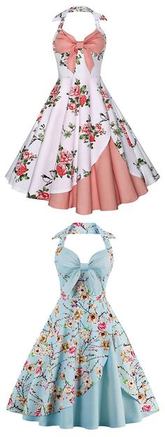 Vintage Dresses, Cheap Vintage Clothing and Retro Dresses for Women Casual Online Vintage Formal Dresses, Trendy Dresses, Cute Dresses, Beautiful Dresses, Casual Dresses, Vintage Outfits, Fashion Dresses, Vintage Fashion, Ladies Dresses